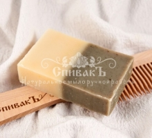Мыло - шампунь Крапива и Розмарин